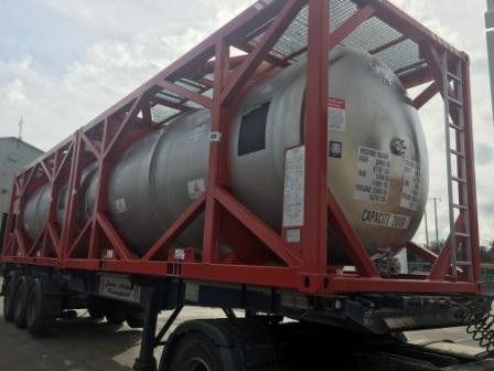 Chemical Transport Tanks To Nigeria