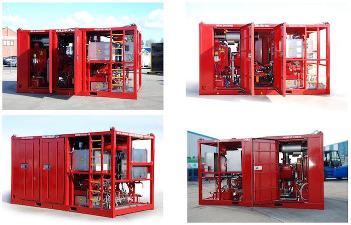 Refurbishment of offshore containers and offshore tanks
