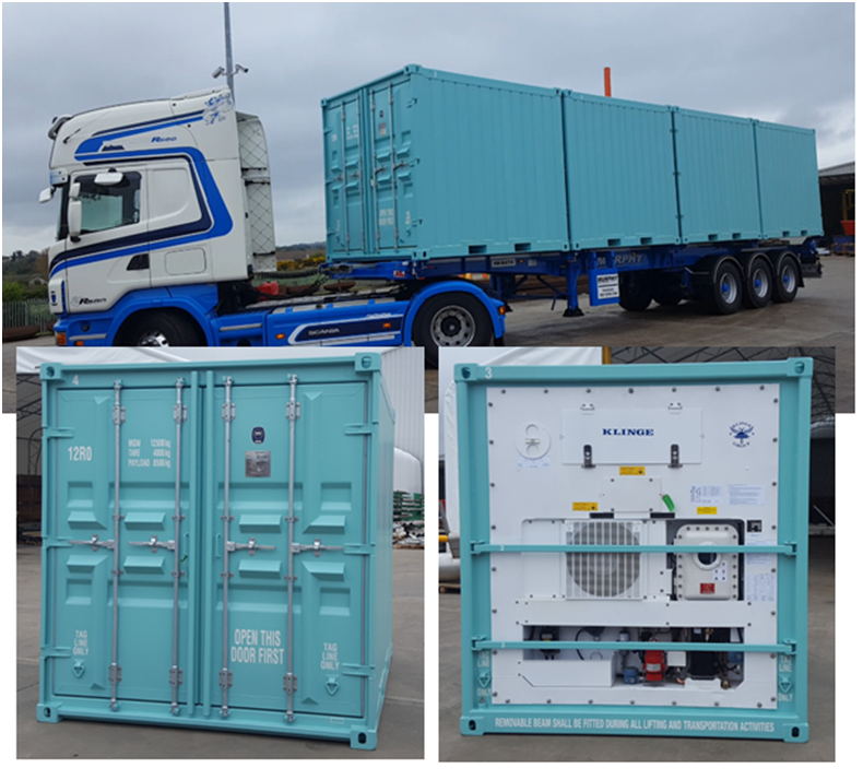 Suretank Supplies Offshore Reefer Containers to Angola