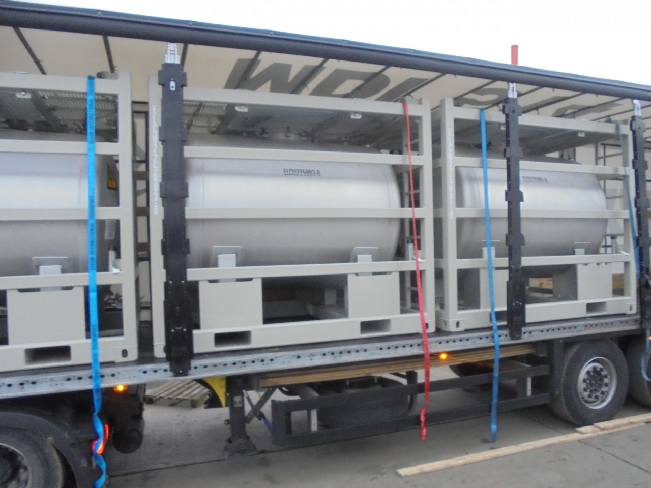 Chemical Offshore Tanks for The Netherlands.