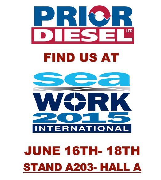 Diesel engine expert exhibiting at Sea Work 2015