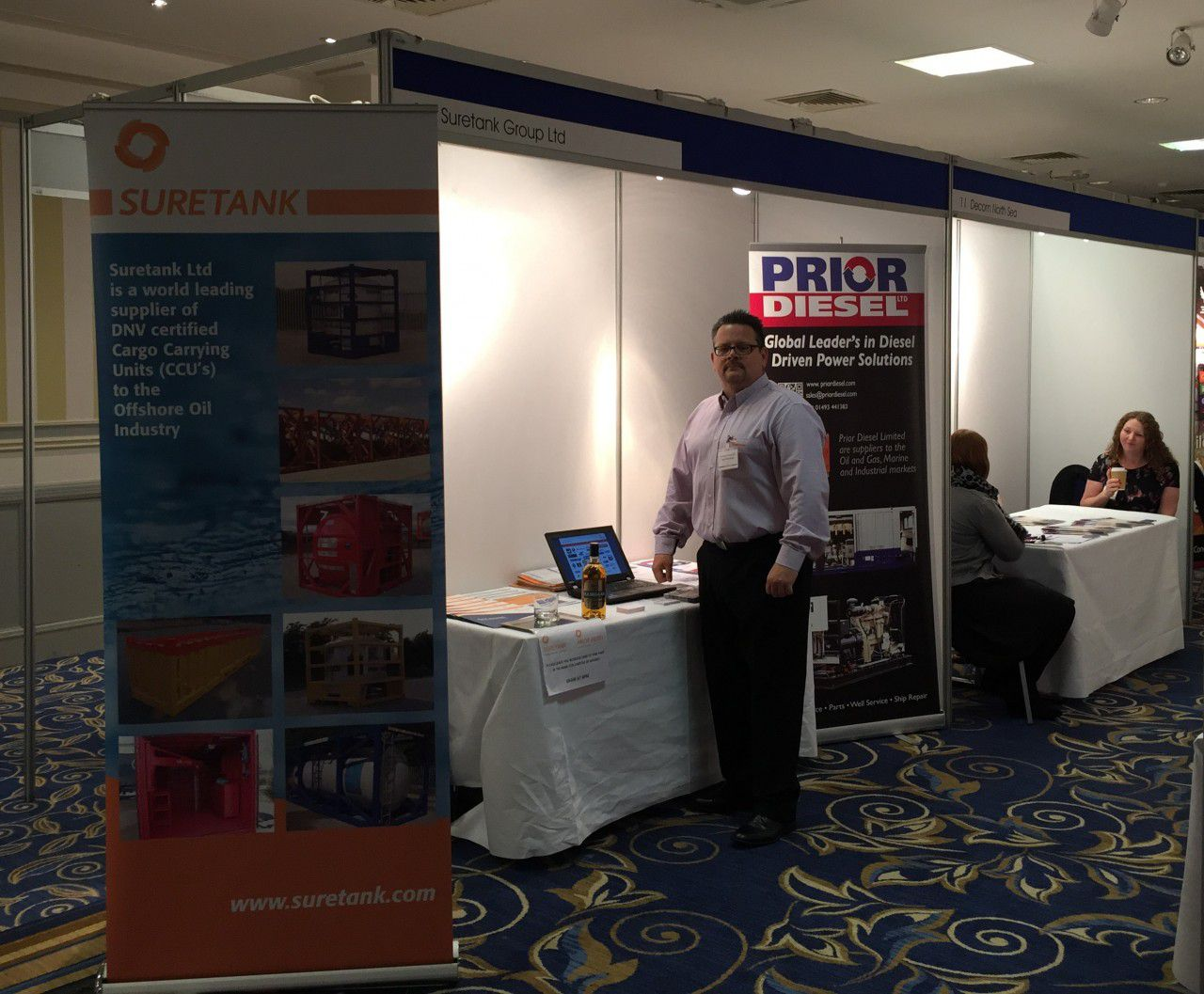 Suretank attends NOF Energy exhibition