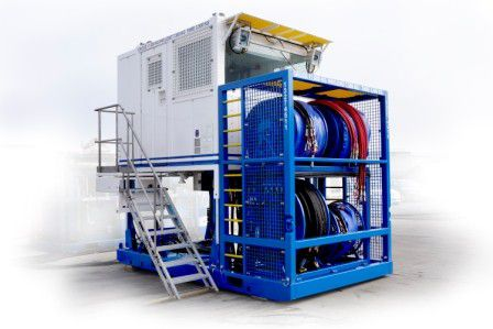 Prior Diesel introduces coil tubing power pack and control cabin for well intervention operations