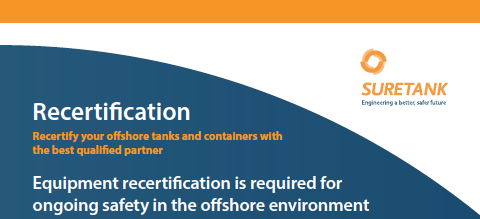 Offshore recertification
